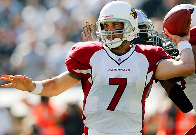 Last week: No. 2 <br><br>After a brilliant performance in his first start against Chicago, Leinart fell to Earth last Sunday against the Raiders. A Heisman winner out of USC, Leinart should bounce back against the Packers' struggling pass defense. Don't be surprised if he puts up big numbers the rest of the season.