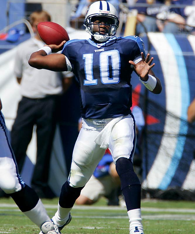 Last week: No. 10 <br><br>The bottom line is that Young gives the Titans a better chance to win every week than the team's other options. Tennessee is coming off a bye and should get better every week as the talented Young gets used to the NFL game.