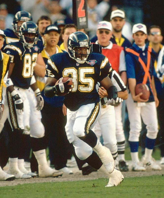 Rodney Culver, San Diego Chargers running back, was among the 110 killed in the Florida Everglades when a ValuJet crashed.
