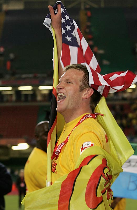 DeMerit is one of a record 13 Americans currently playing in the English Premier League, but unlike most of them, he has never played for the U.S. national team. Watford manager Adrian Boothroyd boldly predicts that DeMerit one day will become the U.S. captain.