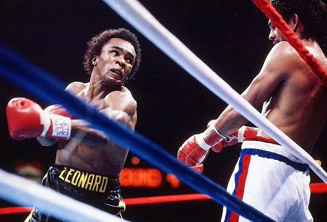 Won WBC Welterweight Title versus Roberto Duran.