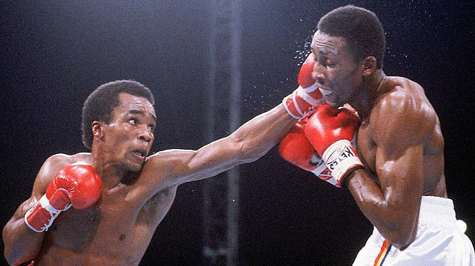 Won WBA Welterweight Title versus Thomas Hearns.