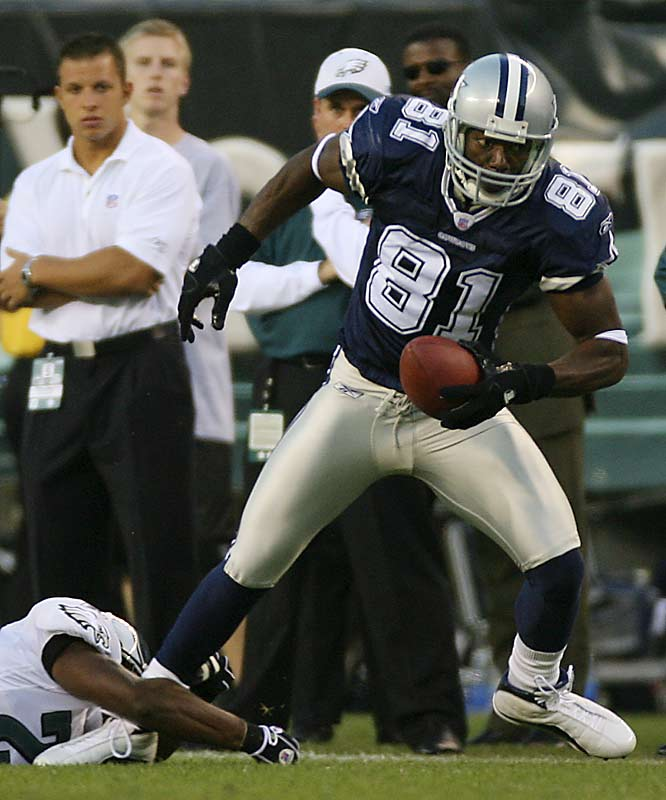 Terrell Owens was limited to just three catches for 45 yards in a losing effort.