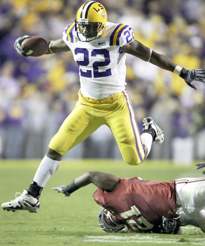 Alley Broussard had 36 of the Tigers 219 rushing yards as LSU keep its slim hopes for an SEC West Division title alive keep its slim hopes for an SEC West Division title alive.