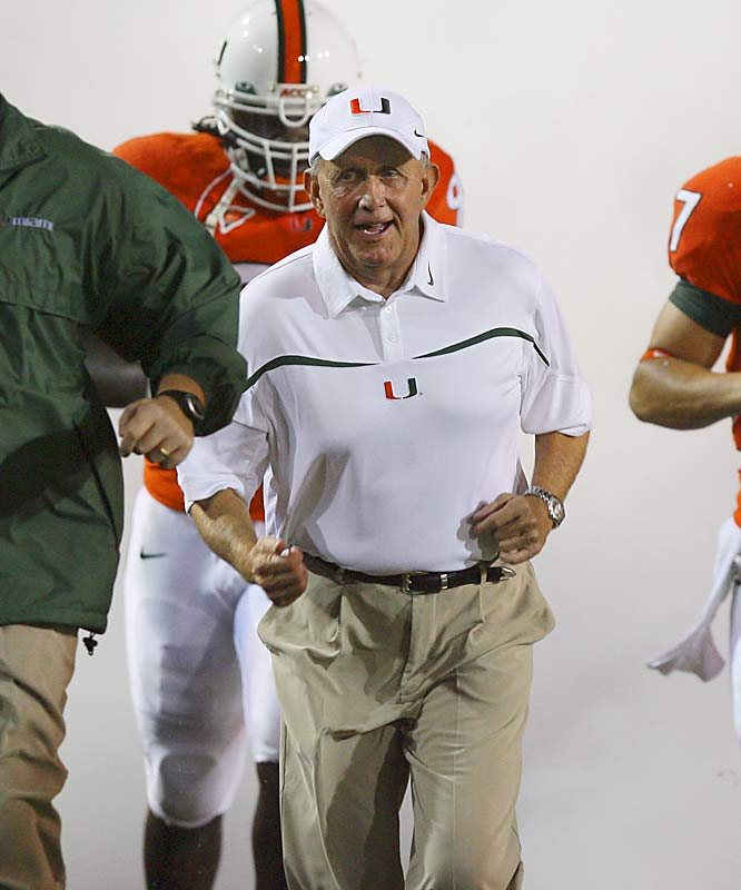 The Hurricanes' forgettable season -- which has been marred by off-the-field headlines, sub par play and a horrific brawl with Florida International -- became truly tragic with the fatal shooting of defensive lineman Bryan Pata. During the 'Canes' abrupt fall from grace, much of the blame has been placed on coach Larry Coker. Is Coker out after the year? Who will Miami look to hire?