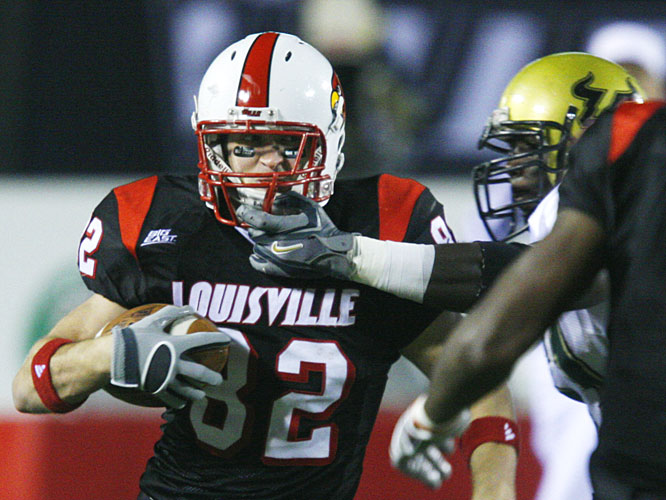 Louisville receiver Gary Barnidge had five catches for 112 yards as the Cardinals bounced back from their loss to Rutgers.