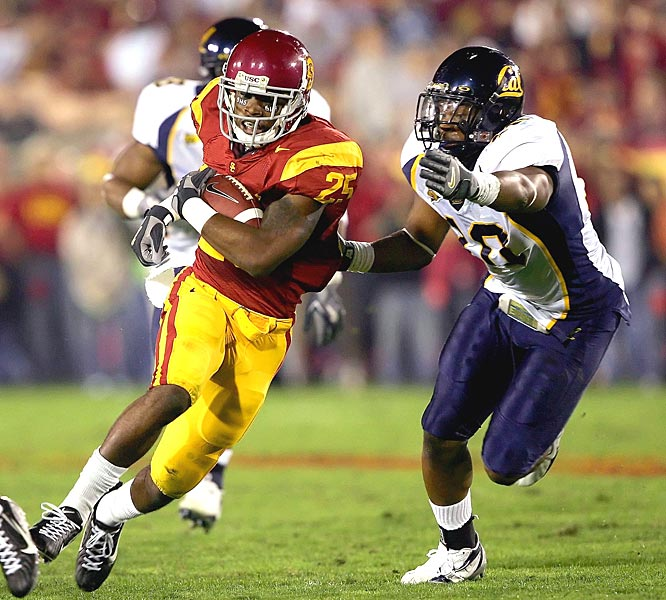 Freshman C.J. Gable had his best game ever for the Trojans, tallying 125 total yards as USC pulled away from the Bears in the second half.