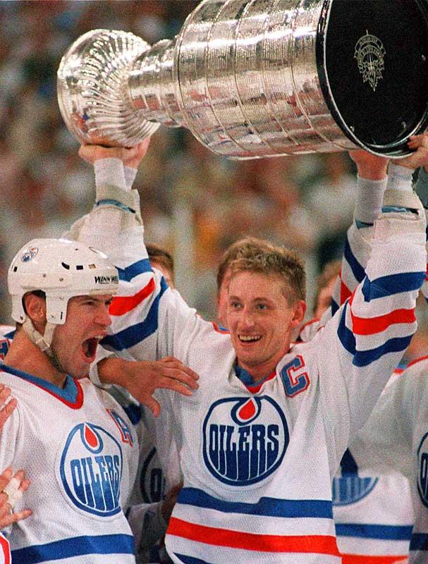 Edmonton Oilers <br>1979-1988<br><br>New York Rangers <br>1996-1997