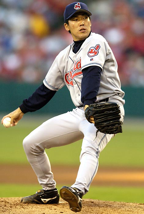 Tadano pitched just 15 games in the majors, all for the Cleveland Indians and 14 of them in 2004, when he went 1-1 with a 4.65 ERA.