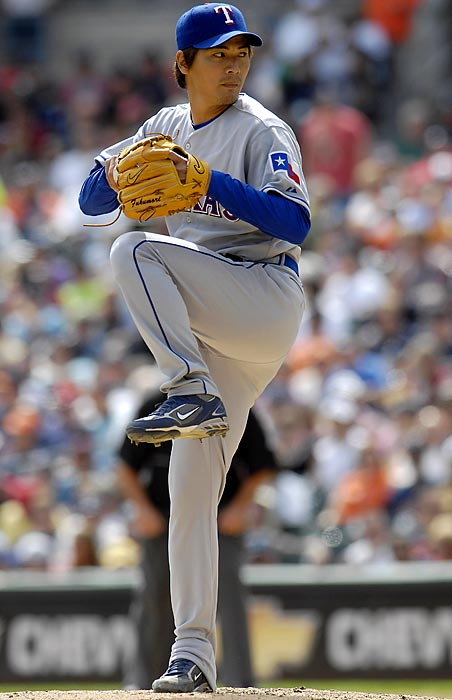 Fukumori surrendered 11 hits and nine runs, all earned, in just four games for the Rangers in 2008, for a 20.25 ERA, earning a quick demotion to the minors. He returned to Japan after that season.