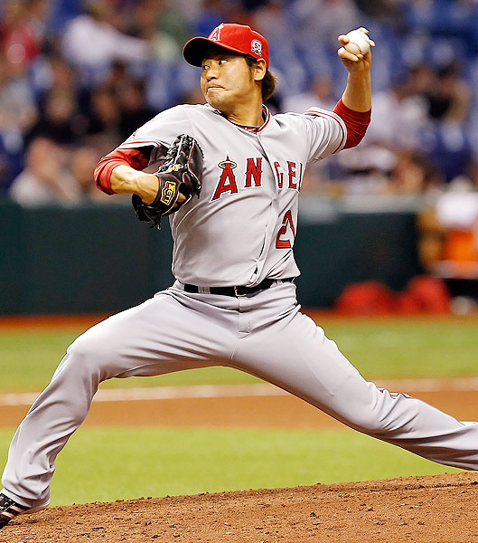 The former Yomiuri Giants pitcher made his major league debut in April 2010 with the Mets, who had signed him to minor league contract. Takahashi went 10-6, making 12 starts and 41 relief appearances in 2010. He signed a two-year, $8 million deal with the Angels in the offseason.