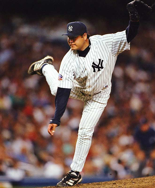 He was purchased by the Padres in January 1997 and traded in May of that year to the Yankees, who paid him $8.3 million over three years. He went 29-20 with New York, won just two of 14 starts over two seasons with Montreal, and left the majors after going 3-8 with Texas in 2002. He was found dead at his California home in 2011 at age 42.