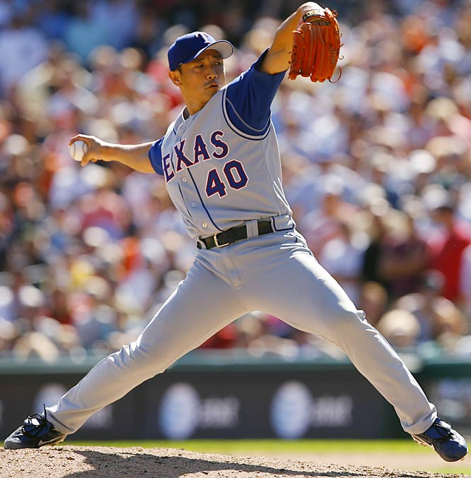 A setup man for the Padres in 2004 and 2005, when he averaged only $750,000 per season, Otsuka became the Rangers' closer in 2006 and finished with 32 saves and a 2.11 ERA. He played one more season in the majors.