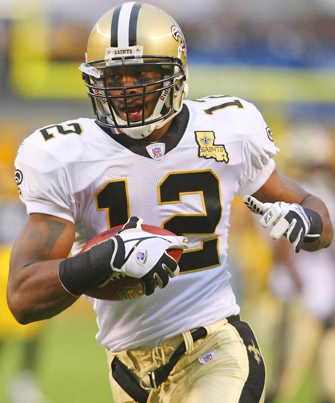 162 ... Marques Colston of the Saints was 10-for-169 receiving against the Steelers two weeks after going 6-for-163 against the Ravens. He's the first NFL rookie in eight years with two 162-yard games in the same season. Randy Moss of the Vikings was 5-for-190 against the Packers and 3-for-163 against the Cowboys in 1998.