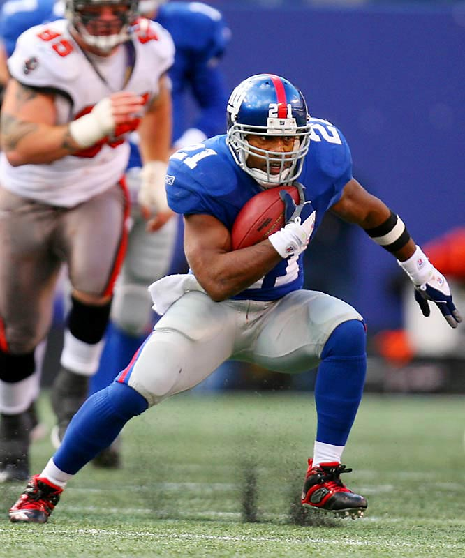 74 ... Running back Tiki Barber has led the Giants in rushing in an NFL-record 71 consecutive games. The last time he didn't lead the Giants in rushing was the last game of the 2001 season, on Jan. 6, 2002, when Barber had 65 rushing yards but Ron Dayne had a team-high 81 yards.