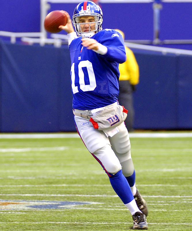 17-13 ... Giants quarterback Eli Manning has won 13 of his last 18 starts to reach 17-13 after 30 career starts. That's a better record after 30 starts than his two-time MVP brother, Peyton (15-15). His father, Archie, was 7-20-3 in his first 30 NFL starts.