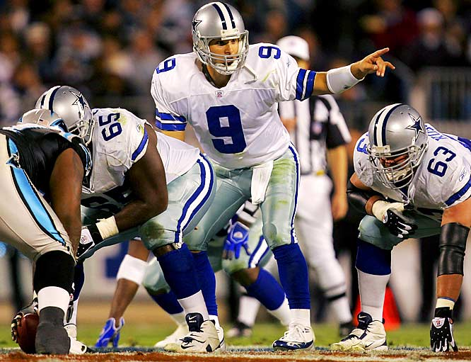 14 ... The Cowboys trailed 14-0 to the Panthers in the first quarter before Tony Romo helped lead them to a 28-14 victory. The last time a Bill Parcells-coached team trailed by 14 or more points in the first quarter and came back to win was Sept. 28, 1986, when the Giants beat the Saints 20-17 after trailing 14-0 after the first quarter.