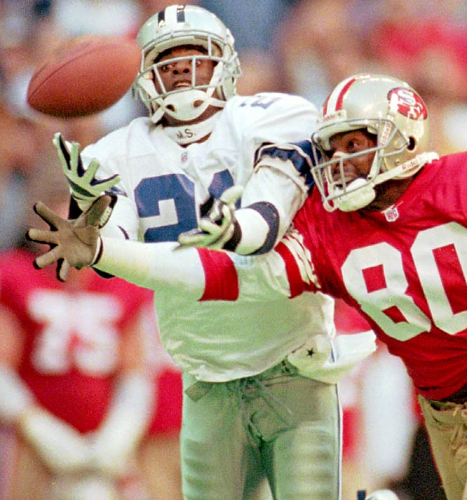 For a brief period in NFL history, cornerback became the most important position other than quarterback. Teams saw Sanders shut down half the field and decided they needed a shutdown guy. In an age where rules favored the receiver -- Sanders was so fast, had such good balance and hands that his man was basically out of the game. That let the rest of the defense focus on covering other guys and rushing the passer. Since Sanders' heyday, the NFL has changed the rules even more in favor of the passing game, so other than Denver's Champ Bailey, the shutdown corner is basically an extinct species.