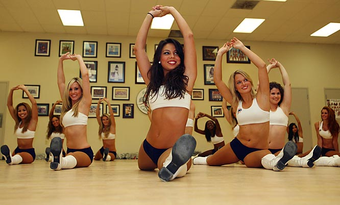 During three evenings a week, for three hours at a stretch, choreographer Trisia Brown leads the Dolphins' 40 cheerleaders through a workout perhaps no less intense than those run by Miami coach Nick Saban. Here's a look at how the Miami cheerleaders prepare for gameday.