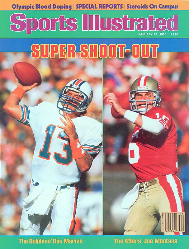 When Joe Montana and Dan Marino met in Super Bowl XIX, most assumed the showdown would be the first of many matchups on the nation's biggest stage. But Marino, then a rookie, never got back to the big game. Nevertheless, Montana and Marino are strongly linked in history since they were the premier quarterbacks of their generation. Marino was known for racking up huge numbers, while Montana simply knew how to win. Although they didn't battle often on the same field, they fought their entire careers for the title of the best QB in the NFL.