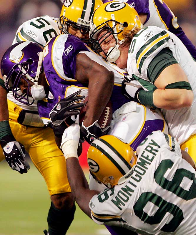 Last Week: Unranked<br><br>The No. 5 overall pick had his best game as a pro in Green Bay's 23-17 win over Minnesota. Hawk was all over the field, with 13 tackles and 1 1/2 sacks. He leads the Packers with 67 tackles and is getting better as the season progresses.