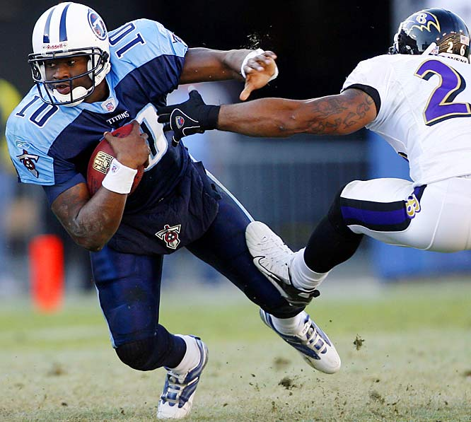 Last Week: 7<br><br>Young was outstanding in the first half against the Ravens last week, as the Titans racked up 26 points. But that was it for the game, as Tennessee lost 27-26. Young ended up hitting 13 of 25 passes for 211 yards and an interception, and ran for 39 yards and a touchdown. Young appears more interested in running the ball, which has helped the offense tremendously.