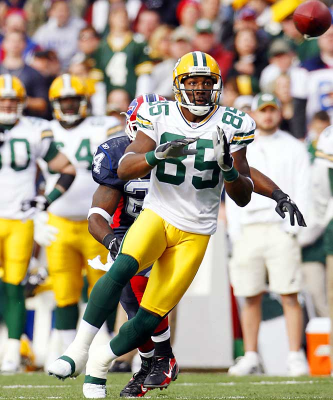 Last Week: Unranked <br><br>Jennings overcame a sore ankle to catch five balls for 69 yards against the Bills. The rookie out of Western Michigan has a gaudy 17.2 yards-per-catch average and helps the Packers stretch the field to open up the running game.