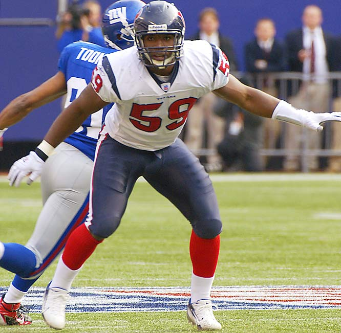 Last Week: 8 <br><br>Ryans has improved to fourth overall in the NFL with 73 tackles and has helped the Texans improve their woeful defense. After giving up 29.4 points per game through its first five contests, Houston has allowed just 16.3 points a game over the last three weeks.