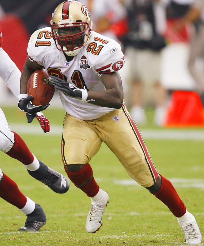 Stop Gore, and you stop the 49ers. Very seldom do you see a top runner on a team that's always playing catch-up.
