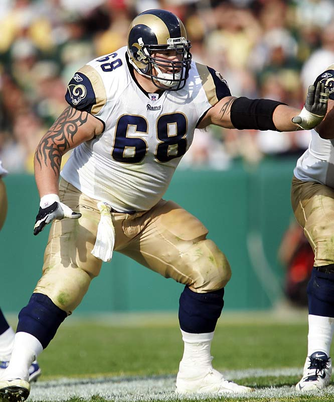 My favorite center to watch is the Rams' Richie Incognito, a nasty young man who backs down from nobody and is one of the few centers who fought the Chargers' Jamal Williams to a standstill.