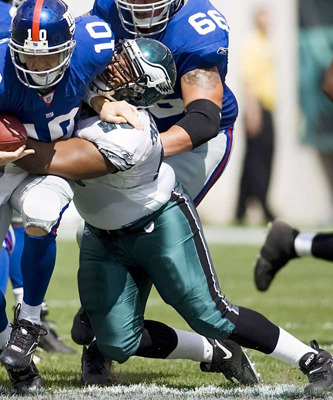 The Philly tackle has earned a contract extension after only a year and a half, evidence of his value to the Eagles.