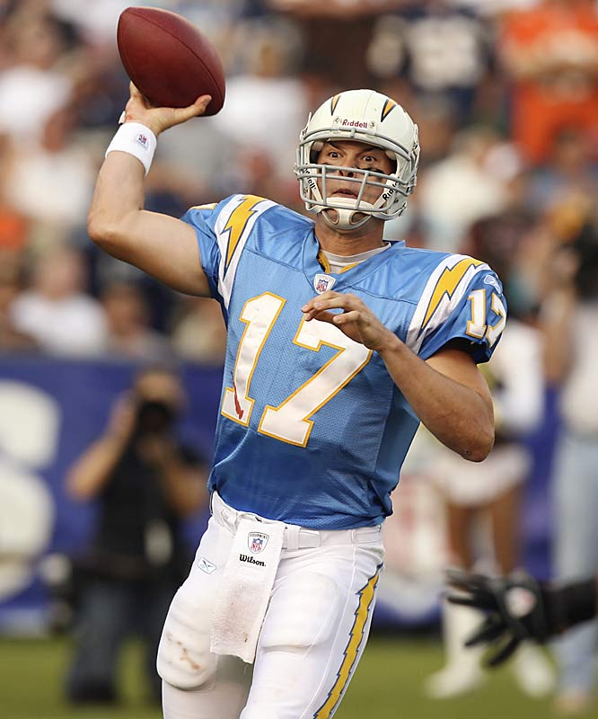 Rivers looks to be the ideal man to run the Chargers' high-powered offense.