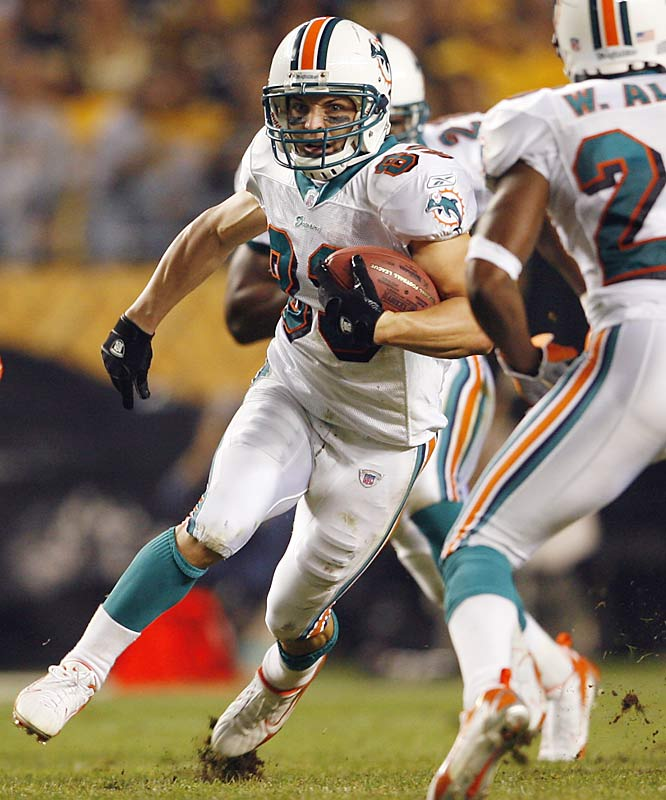 Scouts say little Welker is the Dolphins' most feared offensive threat.