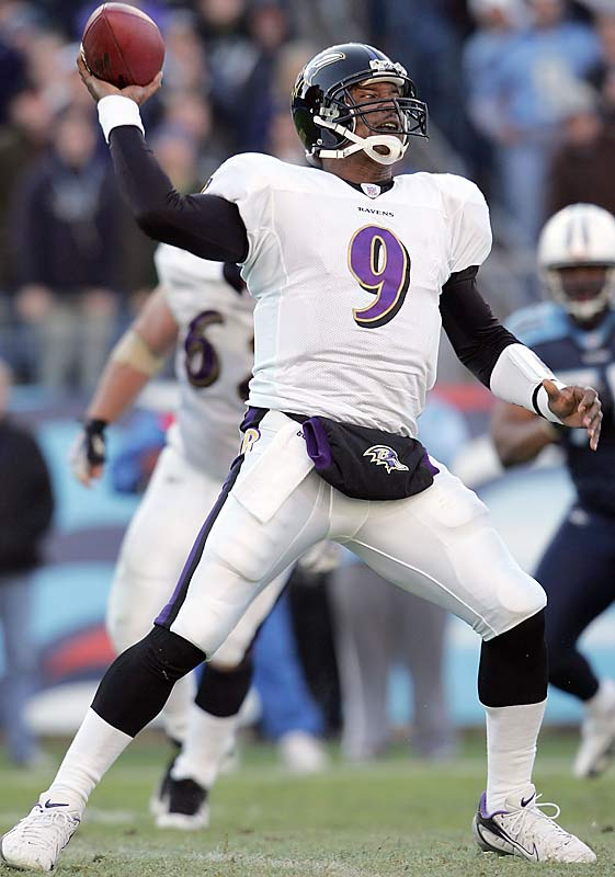 Steve McNair led Baltimore to the biggest comeback in team history after trailing 19 points to Tennessee. McNair threw for 373 yards and three touchdowns against his former team.