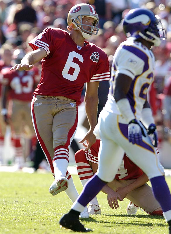 San Francisco had only 133 yards of offense, but Joe Nedney's three field goals were enough to lift the Niners to 3-5. San Francisco's defense had allowed 150 points in its previous four games.