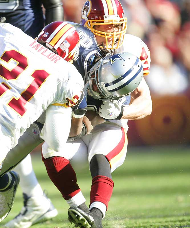 Archuleta is the poster boy for overpriced Redskin free-agent acquisitions. The former Ram was given a $30 million contract this offseason, making him the highest paid safety ever. And then he lost his job to 35-year-old Troy Vincent.