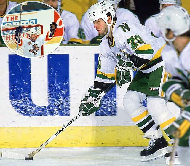 <b>NHL seasons:</b> 19 (1980-99)<br><b>Teams:</b> North Stars, Capitals, Red Wings, Lightning, Panthers