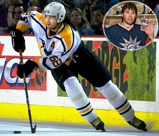 <b>NHL seasons:</b> 17 (1990-2008)<br><b>Teams:</b> Penguins, Capitals, Rangers