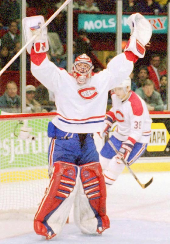 Roy's 11th season in Montreal came to an ugly end on Dec. 2, 1995, when coach Mario Tremblay left him in net for nine goals in a 12-1 drubbing by Detroit. After being pulled during the second period, Roy sarcastically acknowledged the jeers of the home crowd, then informed team president Ronald Corey that he had played his last game as a Canadien.