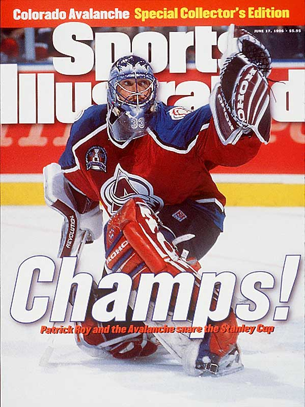 Roy's triumph was front-page news in Sports Illustrated.