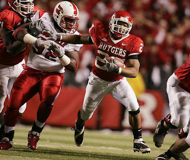 Rice was nearly unstoppable in the second half, finishing the game with 22 carries for 132 yards and two touchdowns.