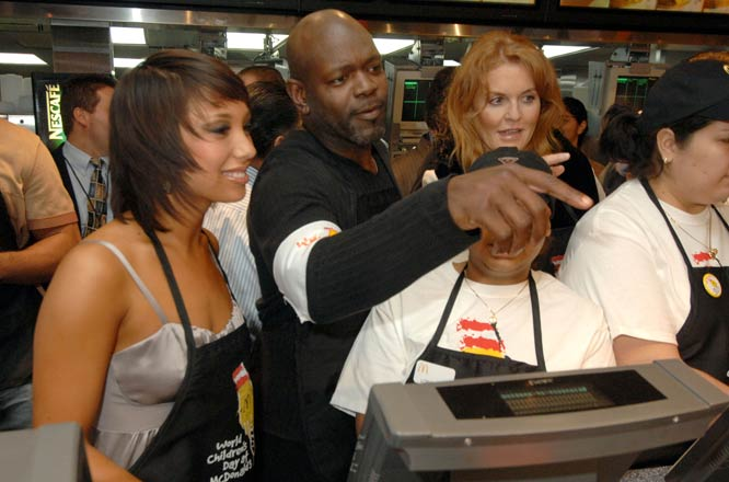 And the next day, Emmitt was back working his shift at McDonalds