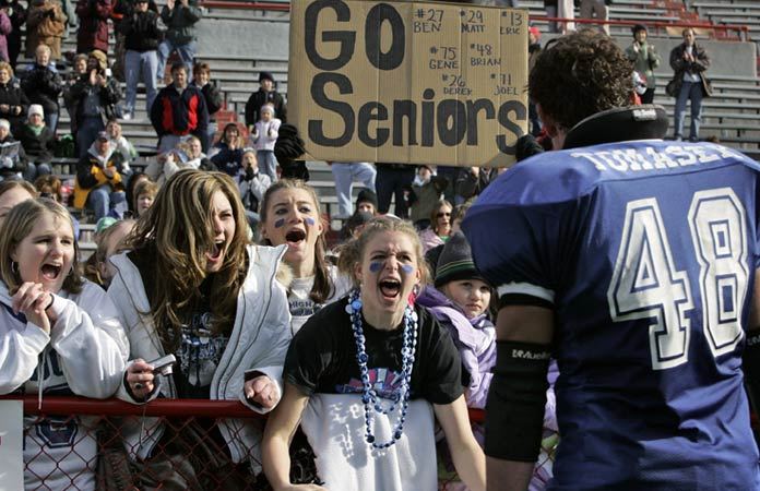 EVERYBODY takes their high school football seriously in Lincoln, Nebraska.