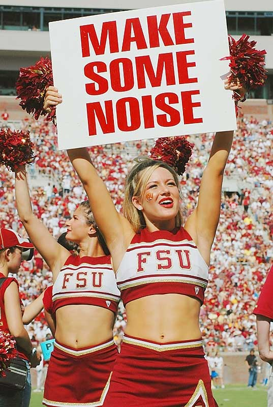 Make some noise for Lauren Sauer, a Florida State senior and SIOC's Cheerleader of the Week. When not rooting for her Seminoles, Lauren likes to watch Sex and the City reruns and relax with her friends on the lake. To find out more, click on the 20 questions link below.