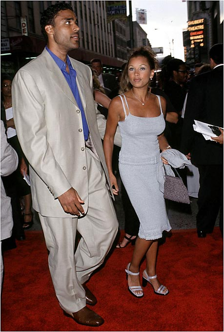 Rick Fox and Vanessa Williams