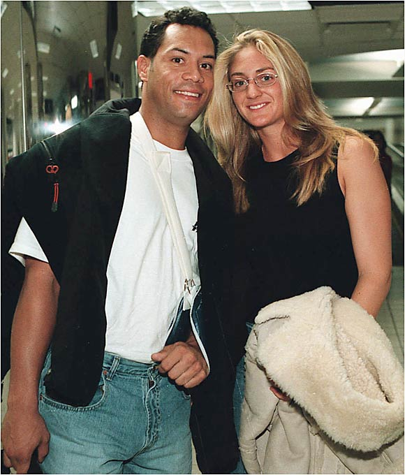 Roberto Alomar and Mary Pierce