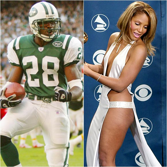 Curtis Martin and Toni Braxton