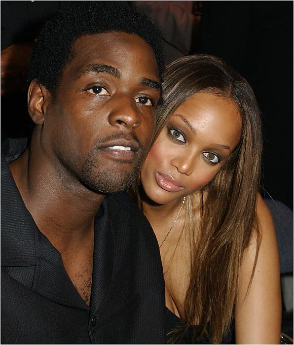 Chris Webber and Tyra Banks