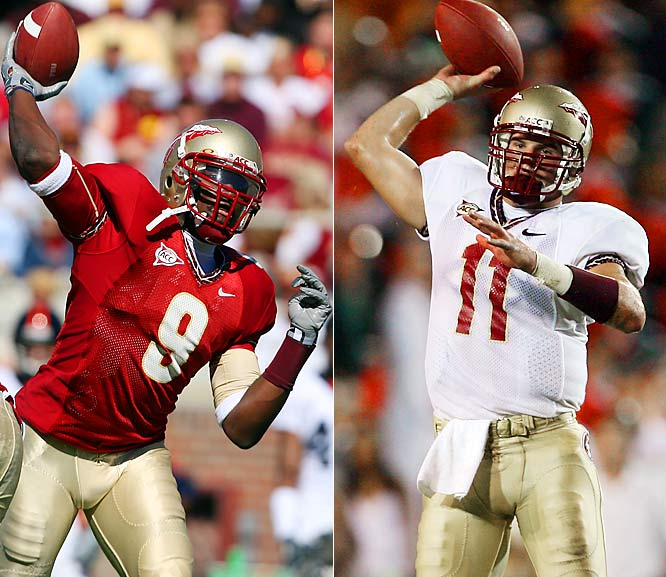 Florida State vs. UCLA <br><br>Neither UCLA nor Florida State has a sure-fire starter behind center. (Could this be part of the reason they're playing in this secondary bowl?) Both Seminole QBs -- Drew Weatherford (11) and Xavier Lee (9) -- finished the season in upsetting fashion, throwing a combined seven picks over the final three games. Patrick Cowan played the game of his life in a shocking win over USC, but Ben Olson should be fully healthy.