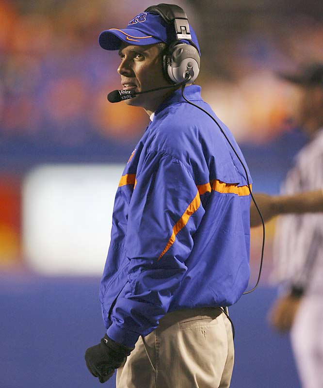 Boise State vs. Oklahoma<br><br>Bob Stoops receives regular praise for the job he's done with Oklahoma this season, but where's the love for Boise State's Chris Petersen? All the first-year head coach did was guide the Broncos through an undefeated season and earn just the second BCS bid for a mid-major school.